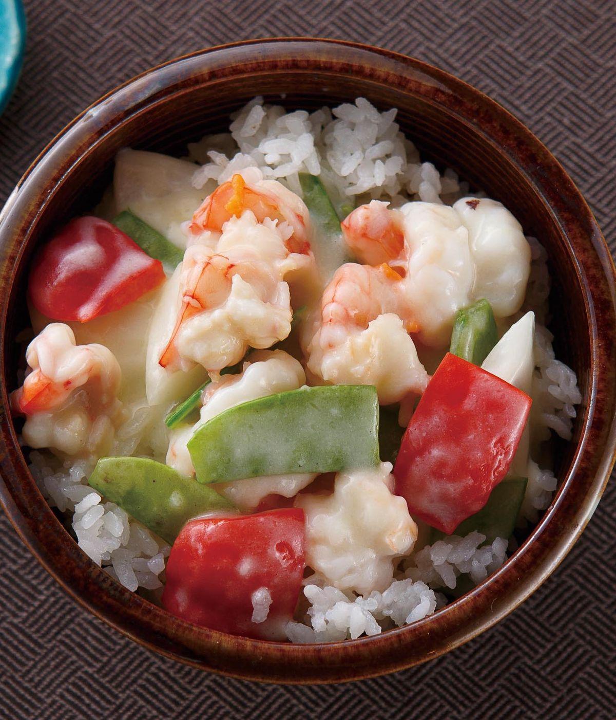 食譜:奶油起司蝦