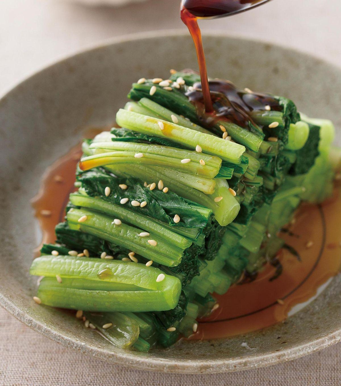 食譜:和風醬小松菜