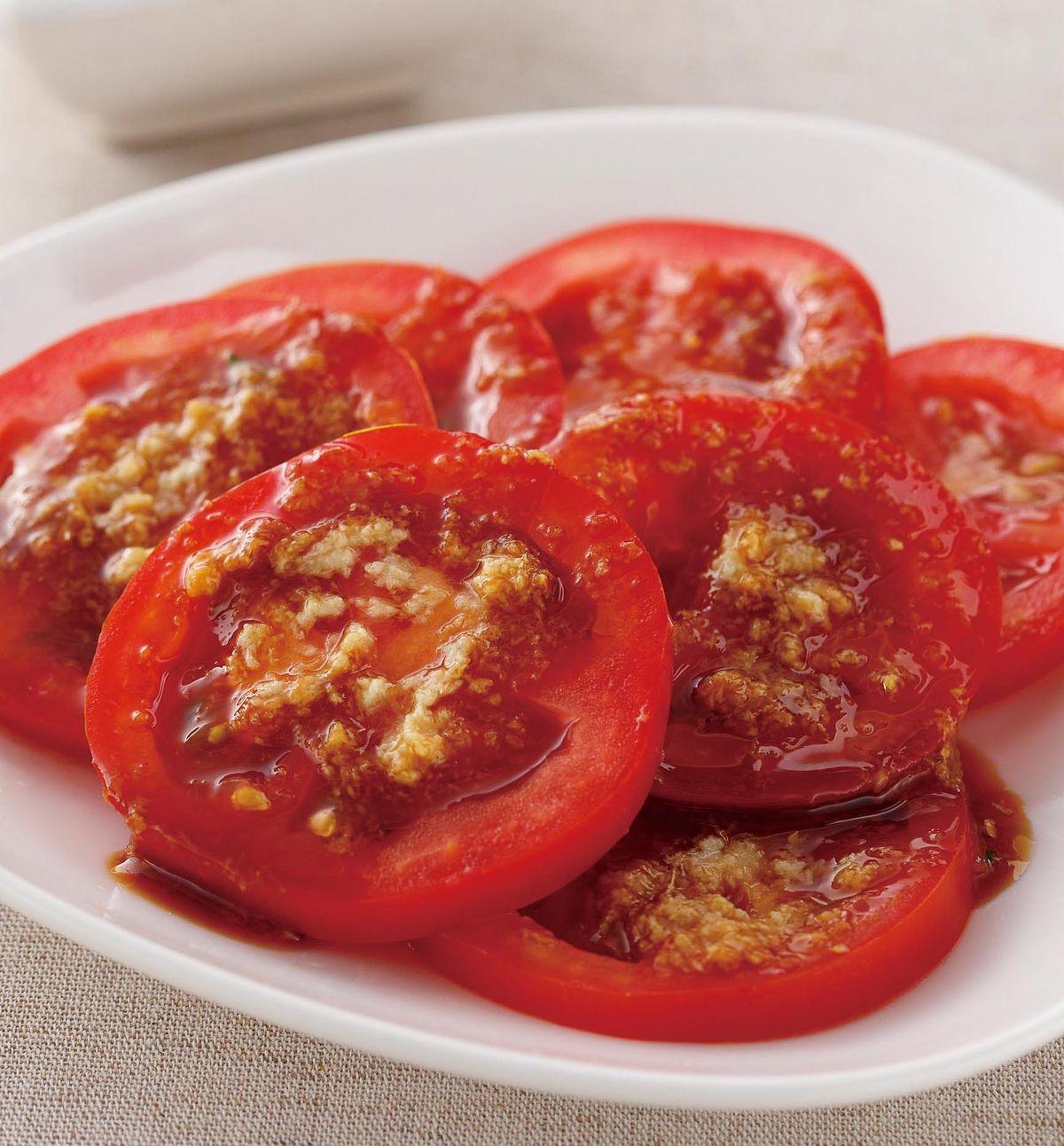 食譜:薑泥醬番茄