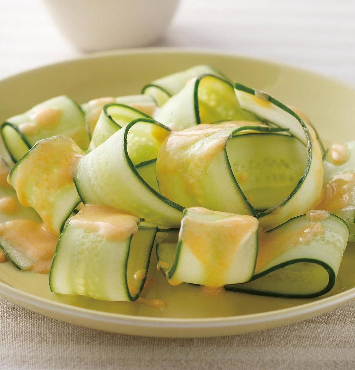 食譜:芒果優格醬小黃瓜