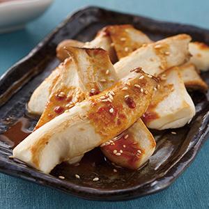香辣芝麻醬杏鮑菇