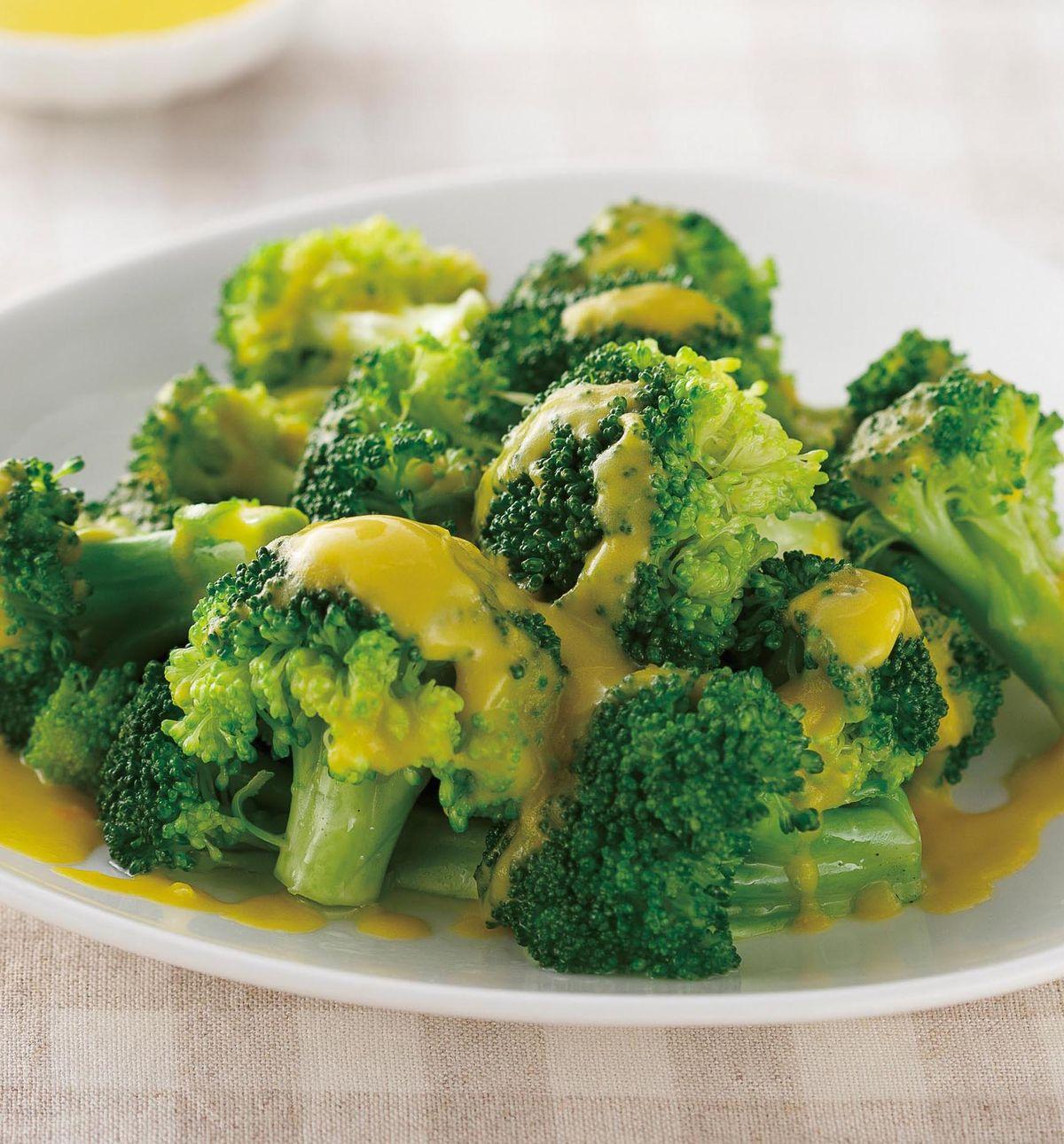 食譜:酪梨醬花椰菜