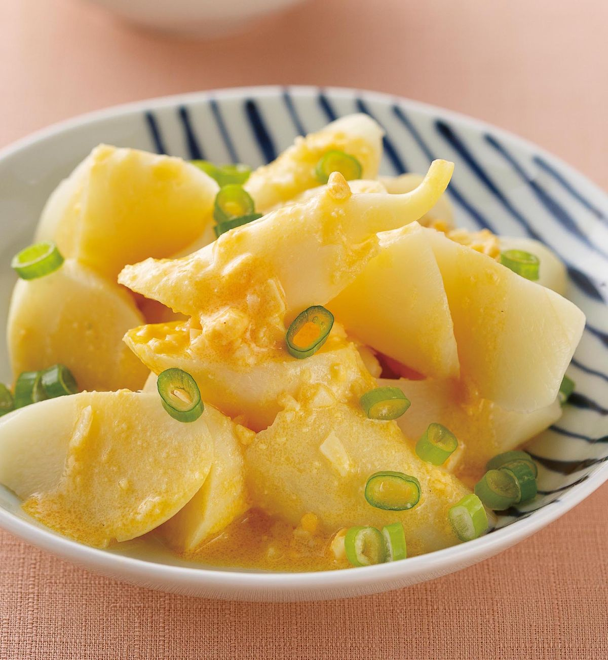 食譜:蒜香蛋黃醬茭白筍