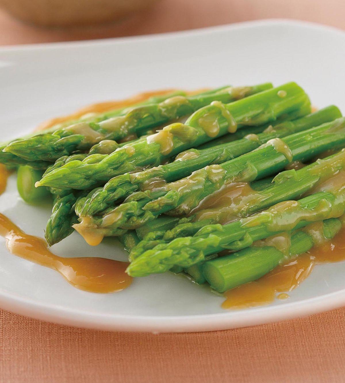 食譜:味噌醬蘆筍