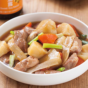 馬鈴薯燒肉(3)