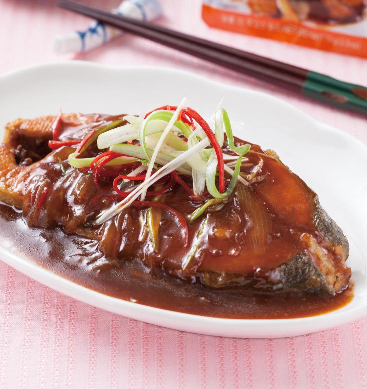 食譜:蜜汁鮭魚
