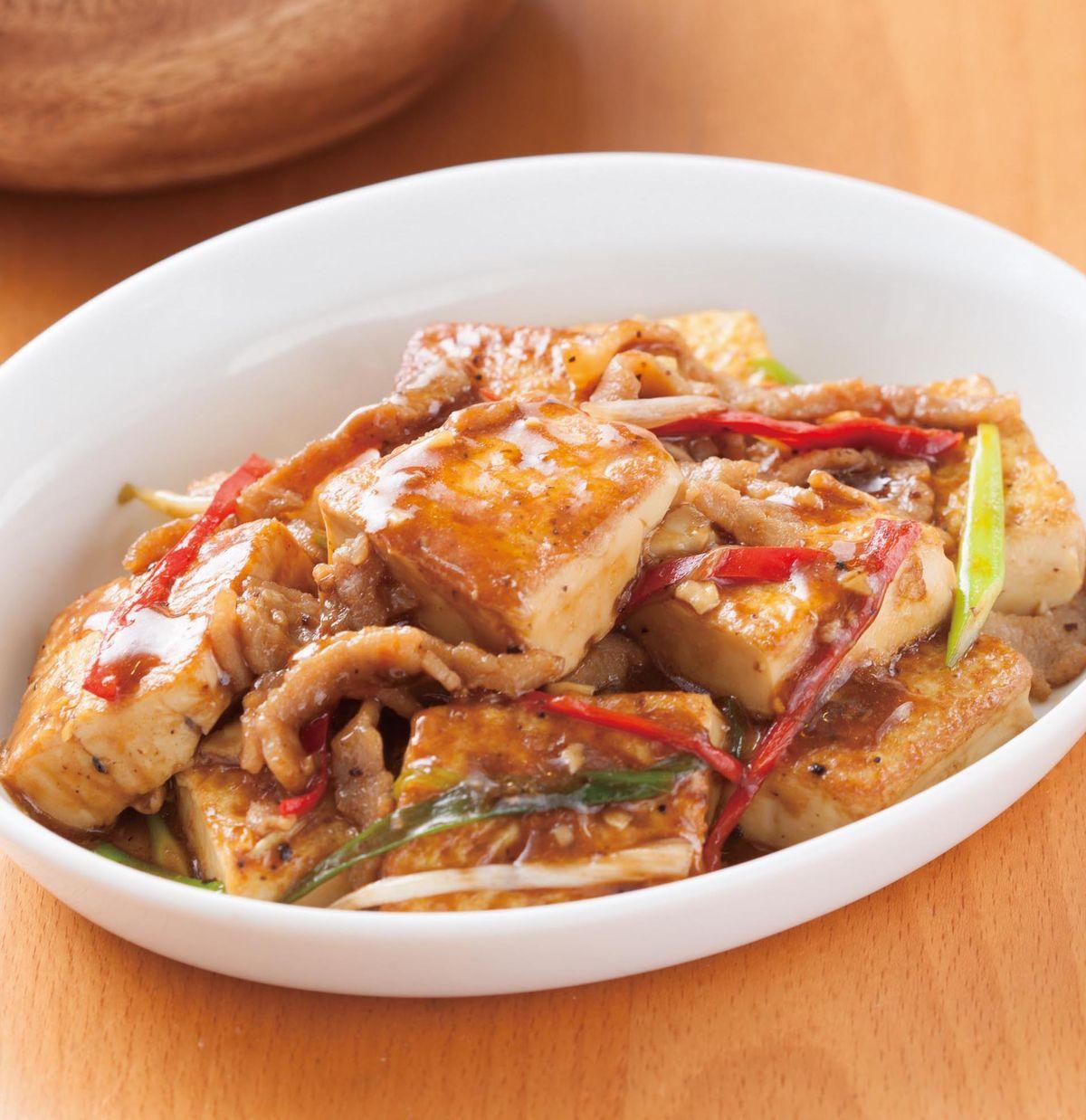 食譜:黑椒蛋豆腐
