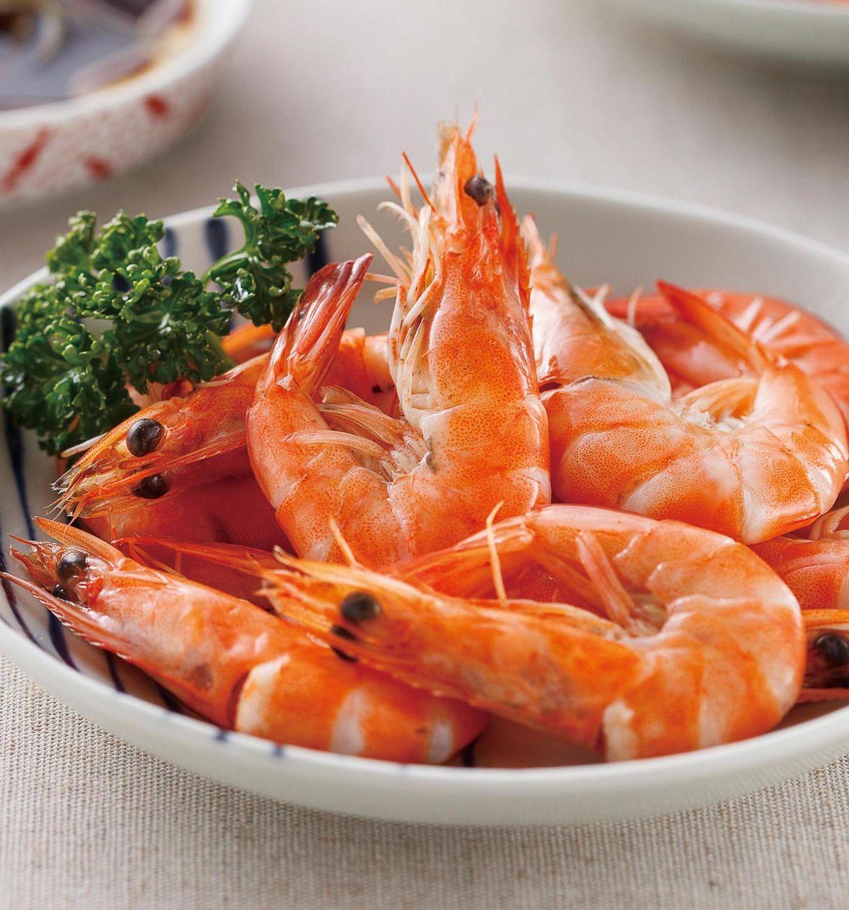 食譜:白灼白蝦