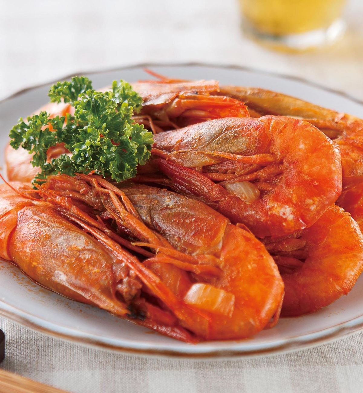 食譜:茄汁海蝦