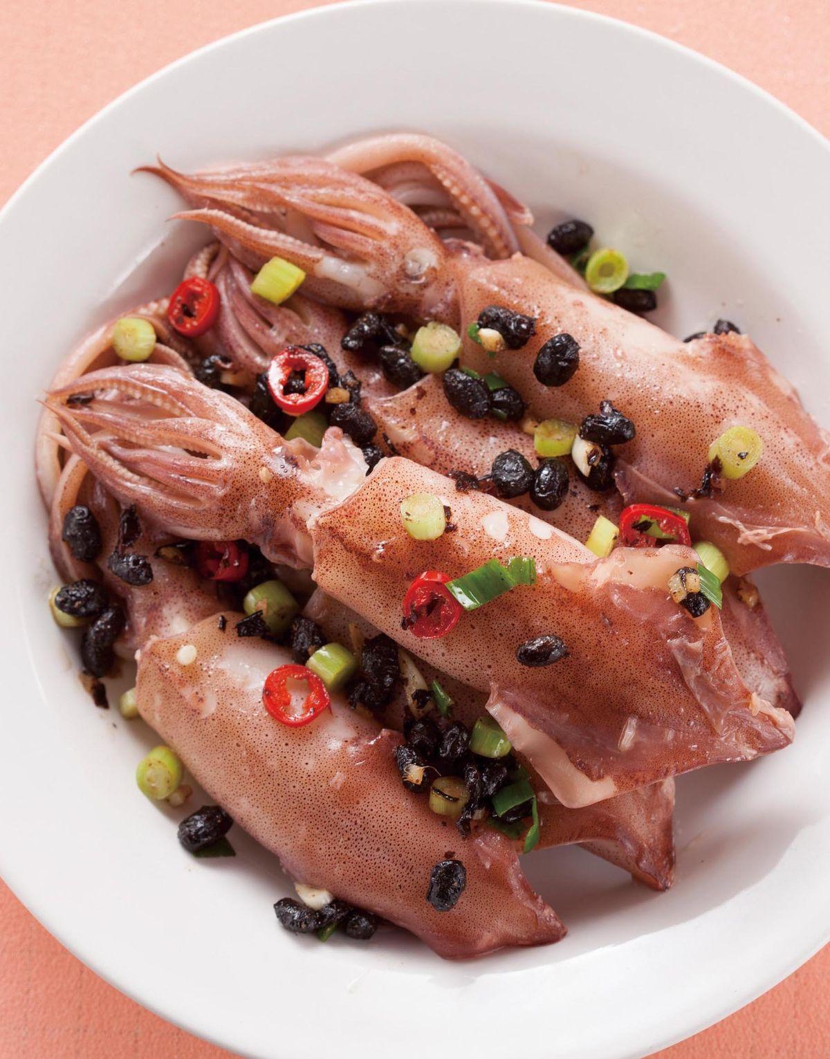 食譜:豆豉蒸小卷(1)