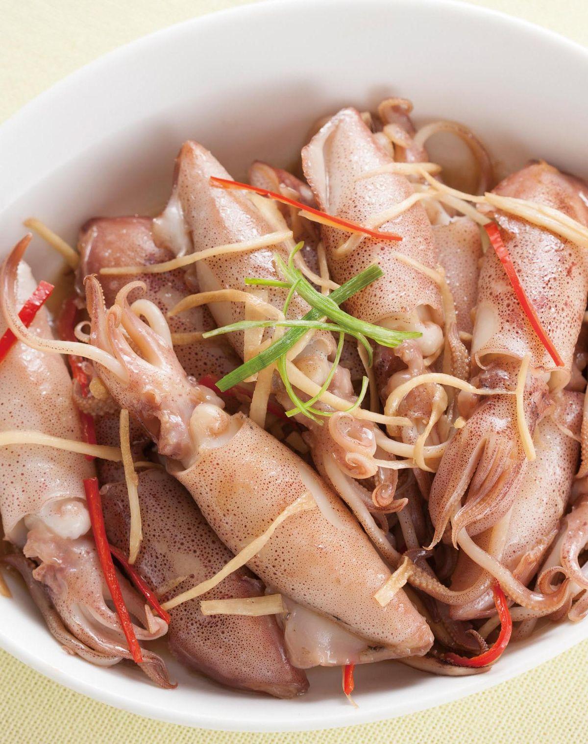 食譜:薑絲小卷(2)
