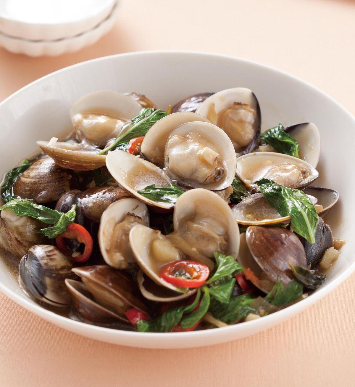 食譜:塔香文蛤