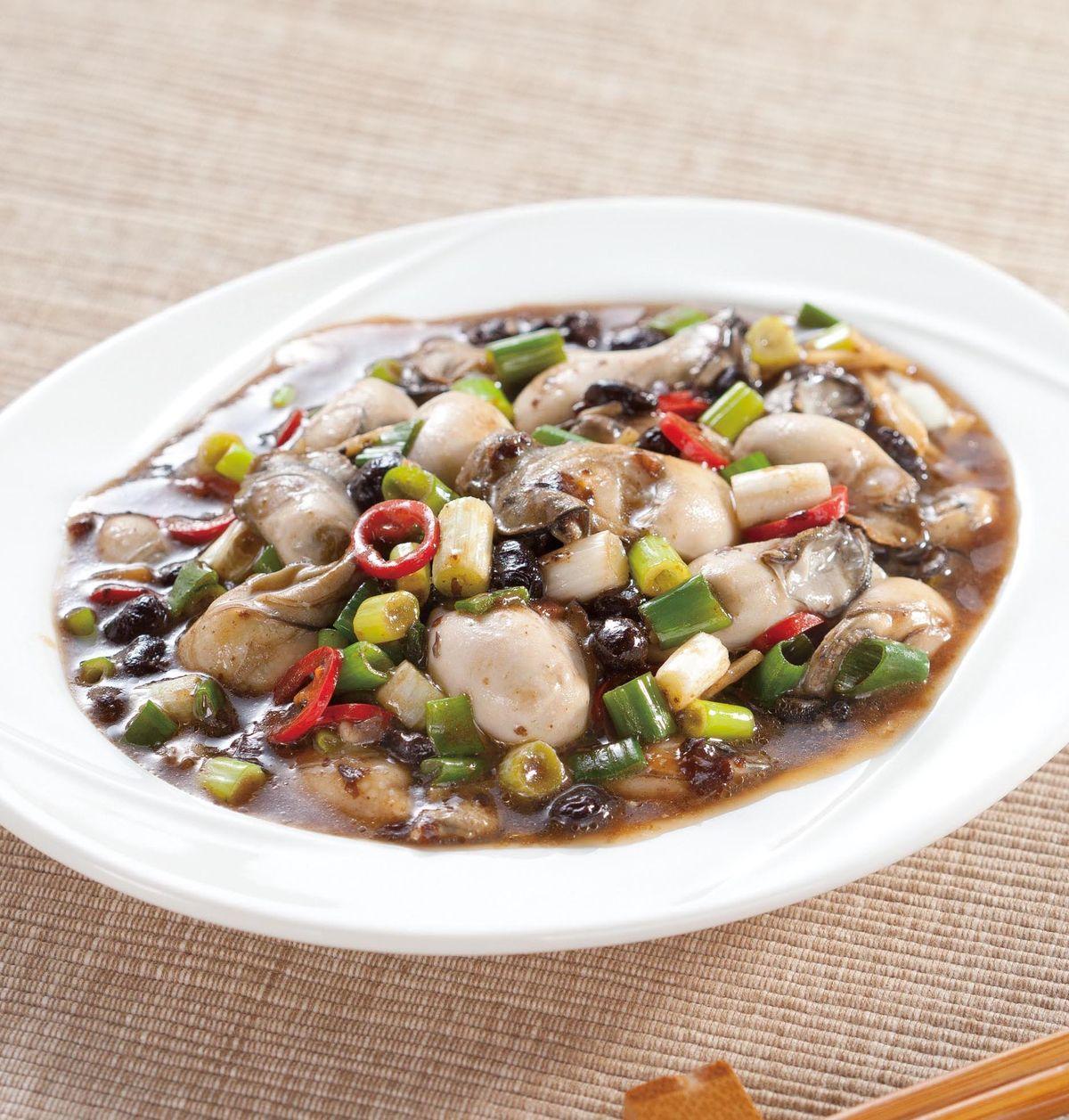 食譜:豆豉鮮蚵(9)