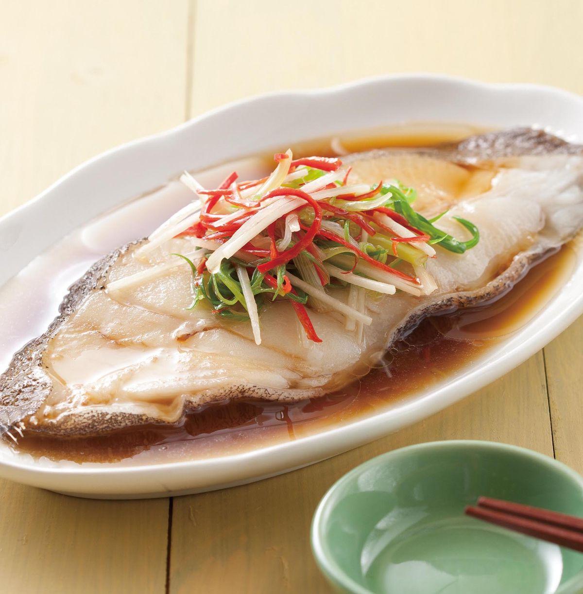 食譜:清蒸鱈魚(6)