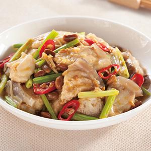 芹菜豆醬豆腐鯊