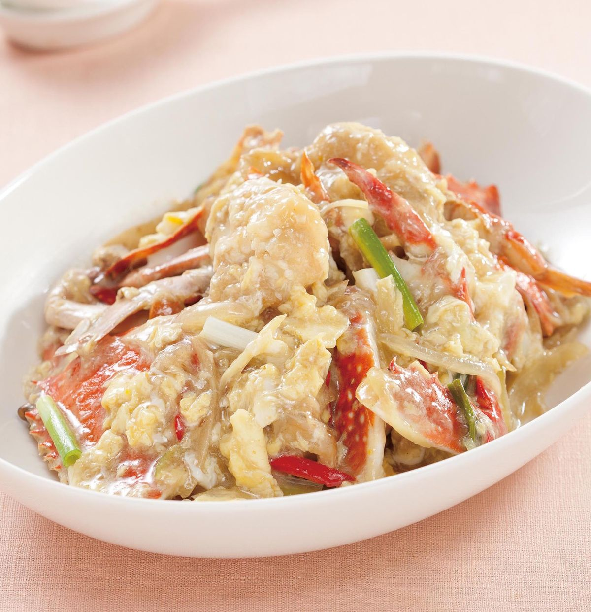 食譜:芙蓉炒螃蟹
