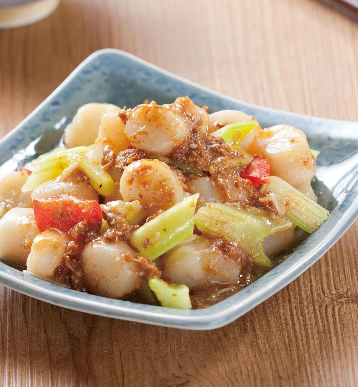 食譜:醬炒鮮干貝