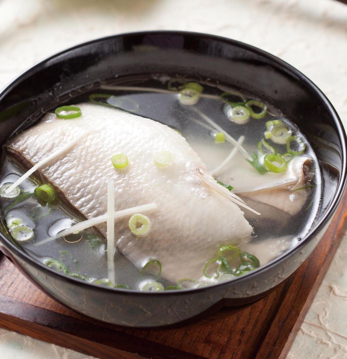 食譜:虱目魚肚湯(3)