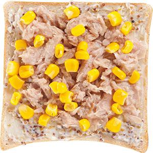 玉米鮪魚土司