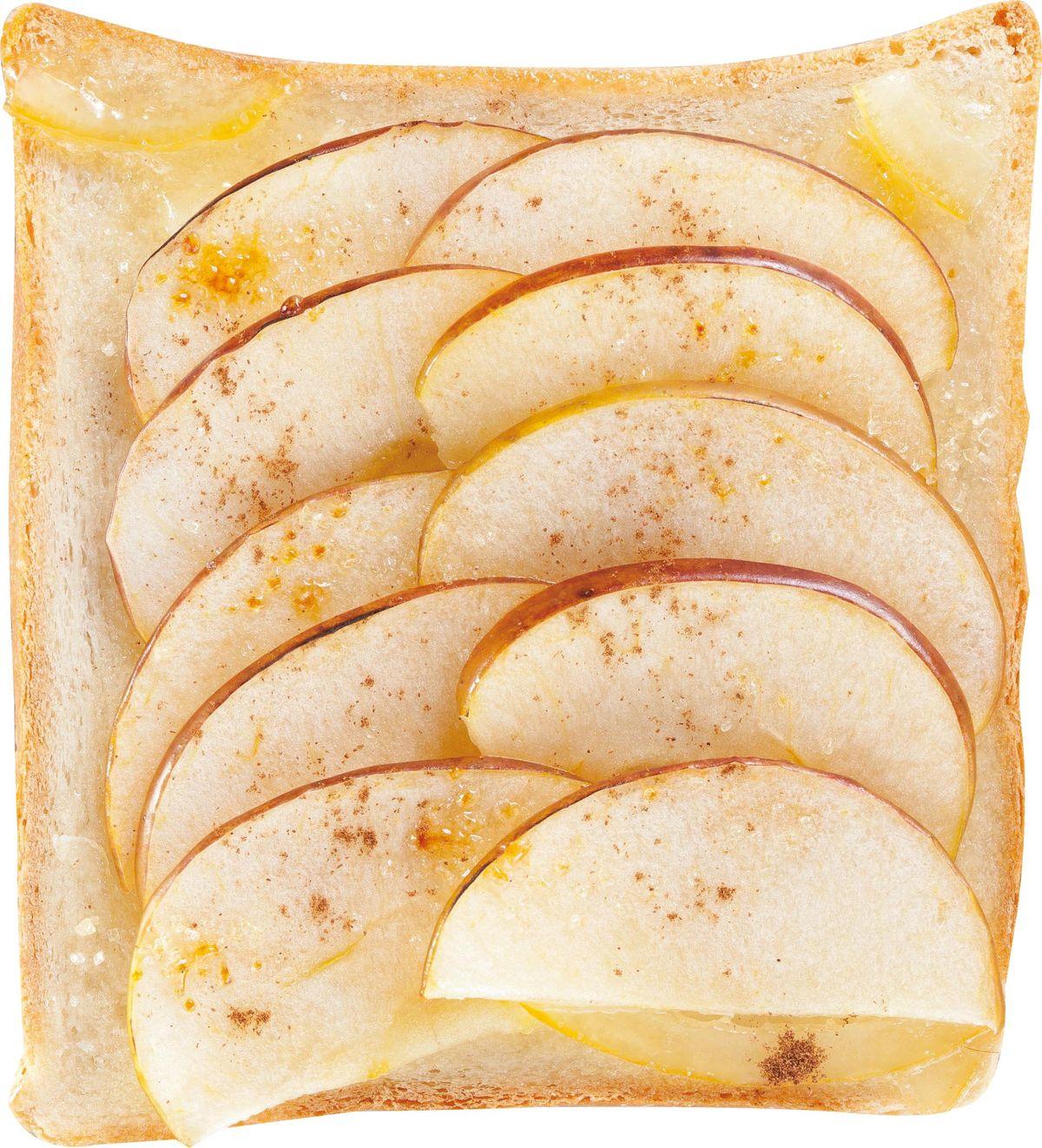 食譜:柚香蘋果土司
