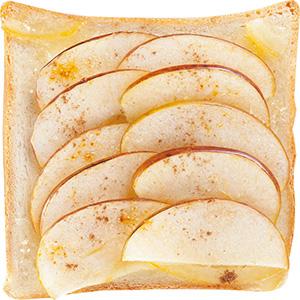 柚香蘋果土司