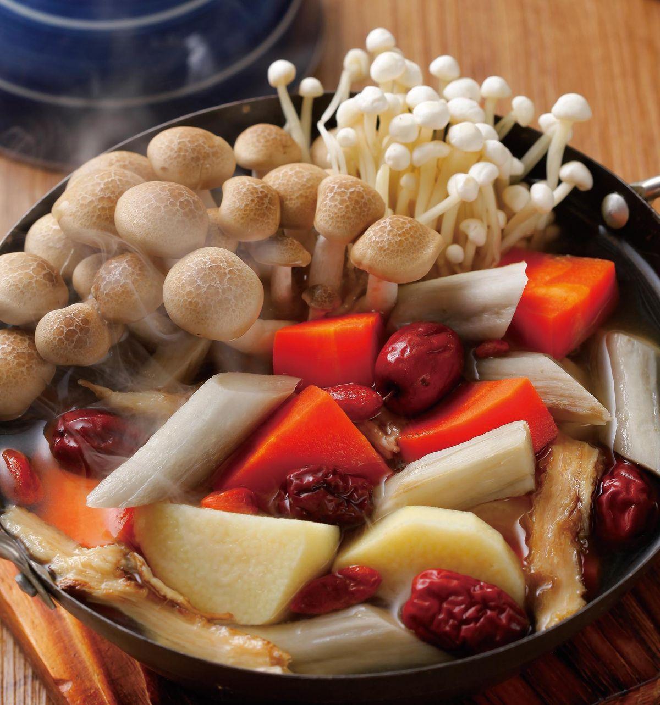 食譜:養生蔬食鍋