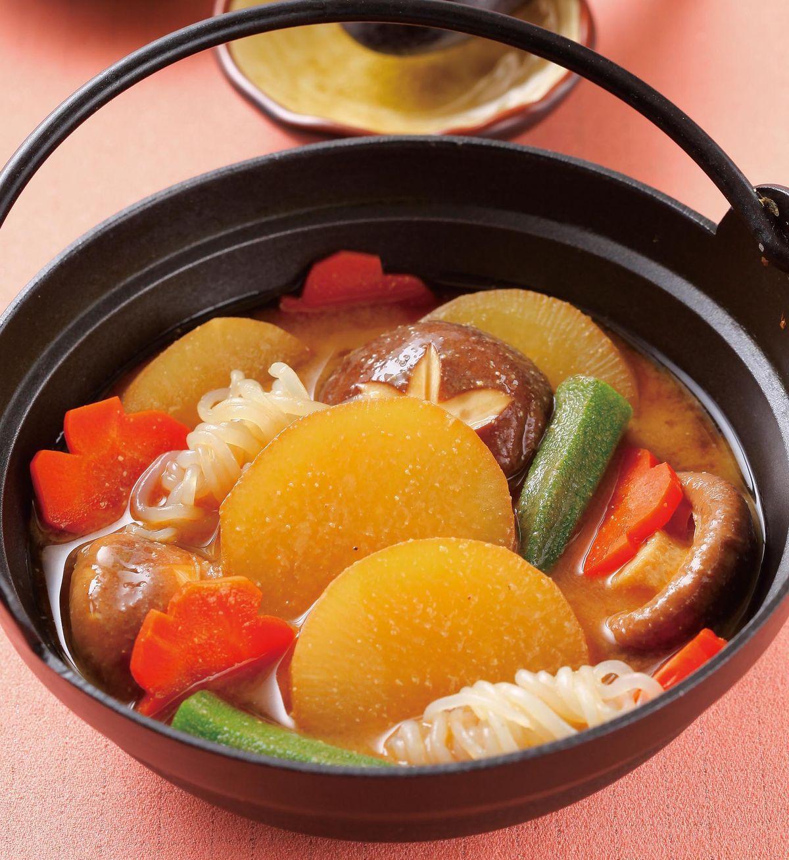 食譜:味噌燉蘿蔔