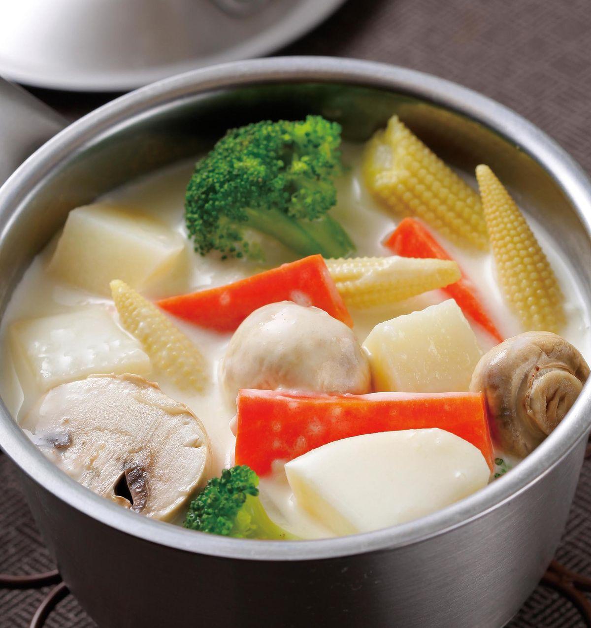 食譜:奶油蔬菜鍋