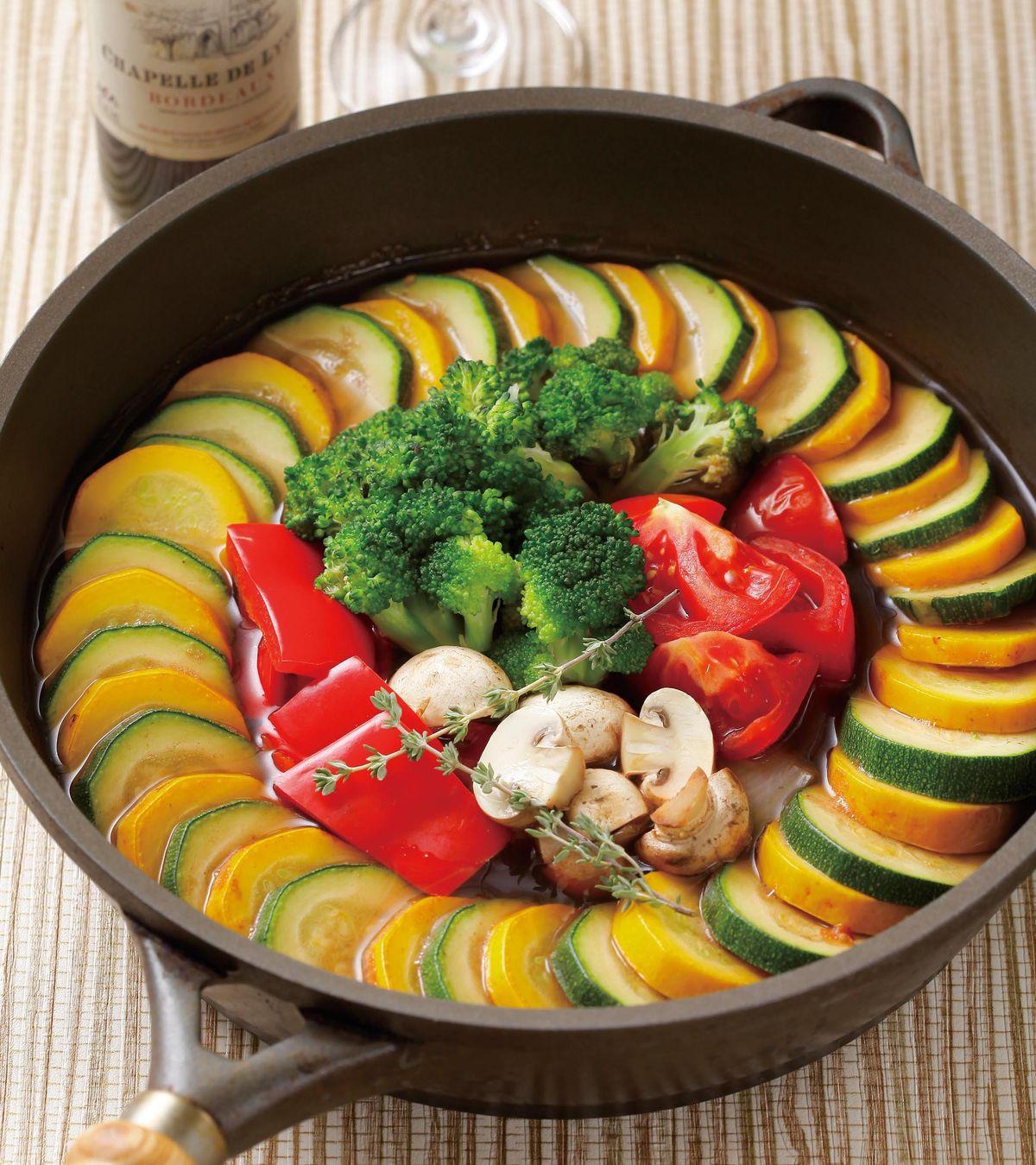 食譜:紅酒燉蔬菜