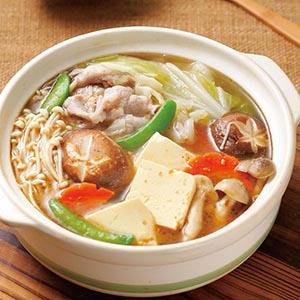 沙茶蔬菜鍋