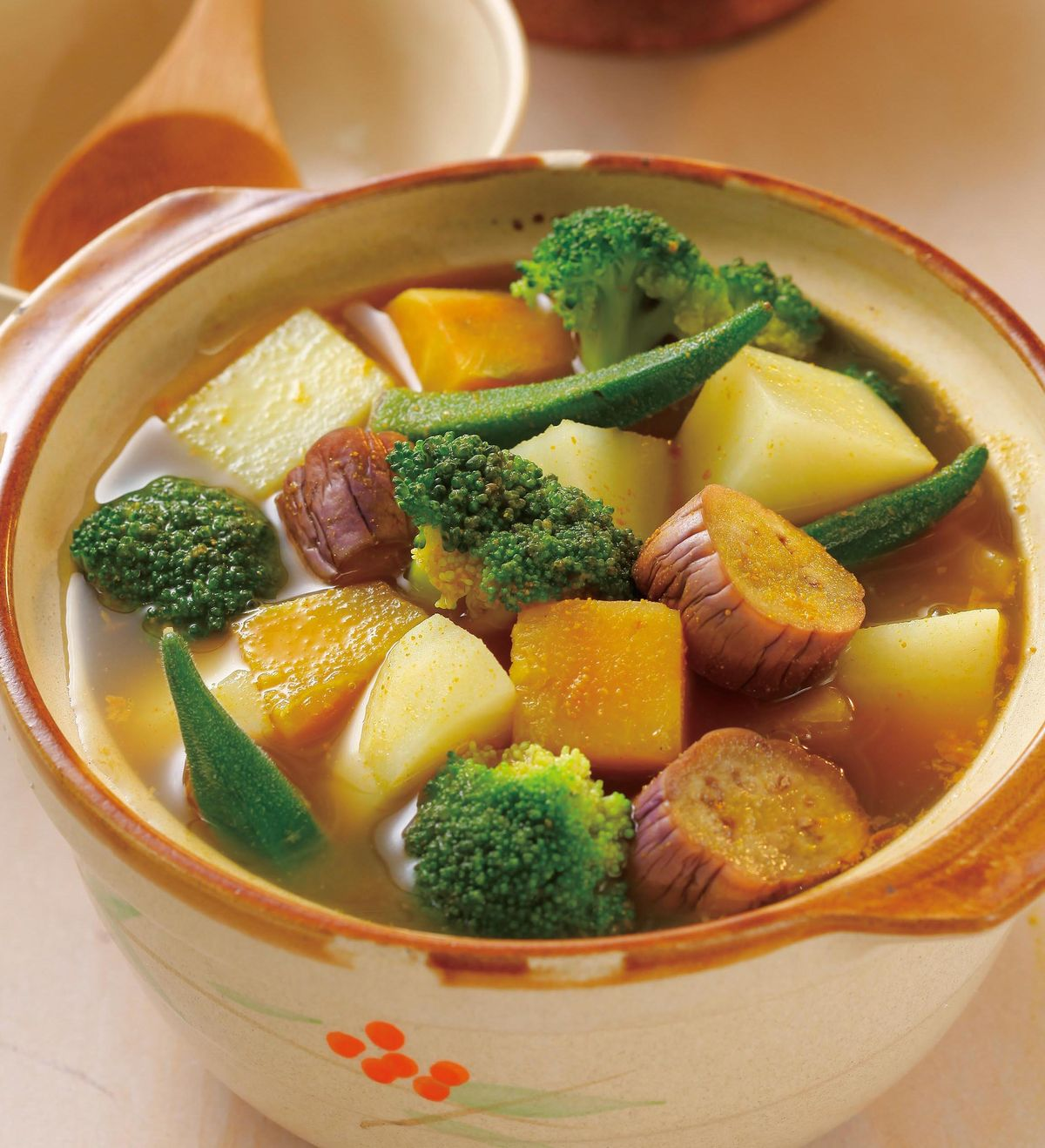 食譜:咖哩什錦鍋