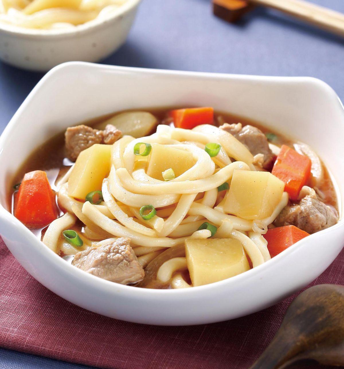 食譜:洋芋燉肉烏龍麵