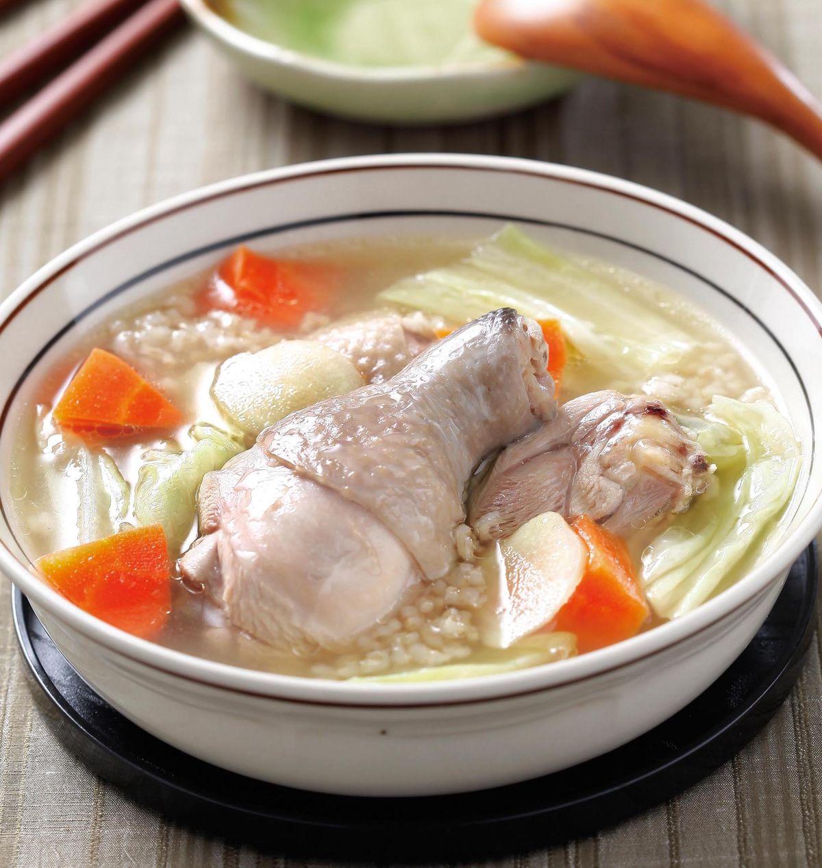 食譜:紅蘿蔔糙米雞