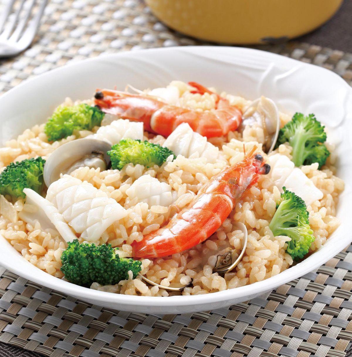 食譜:料亭海鮮燉飯