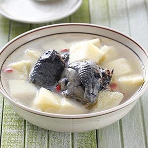 山藥枸杞雞湯(2)