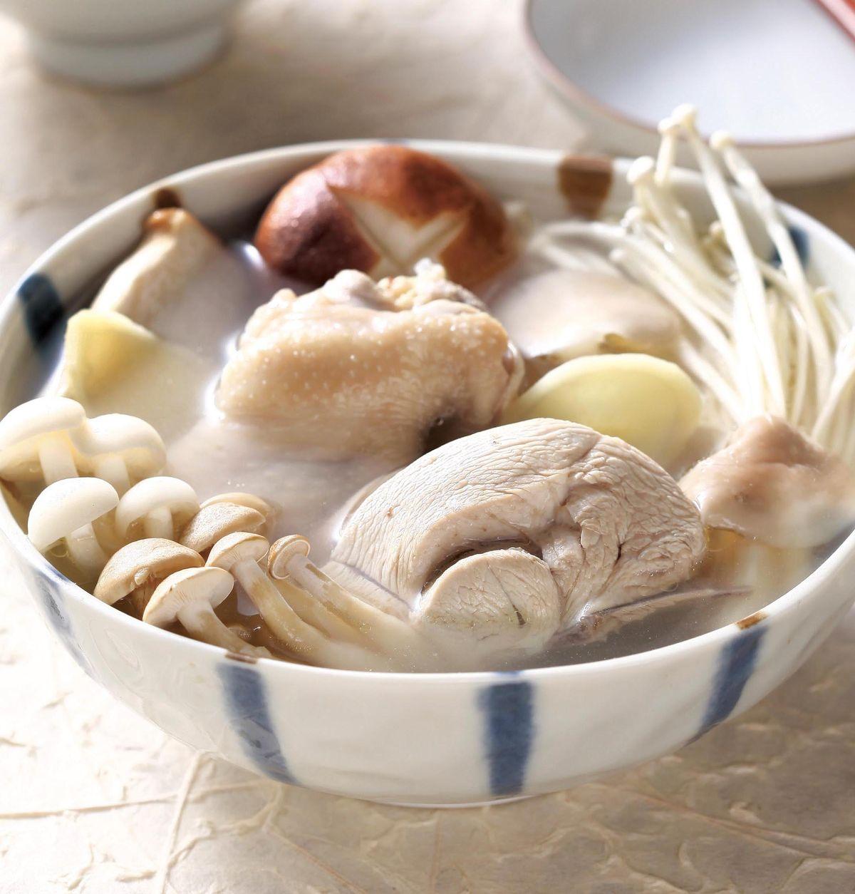 食譜:百菇雞湯