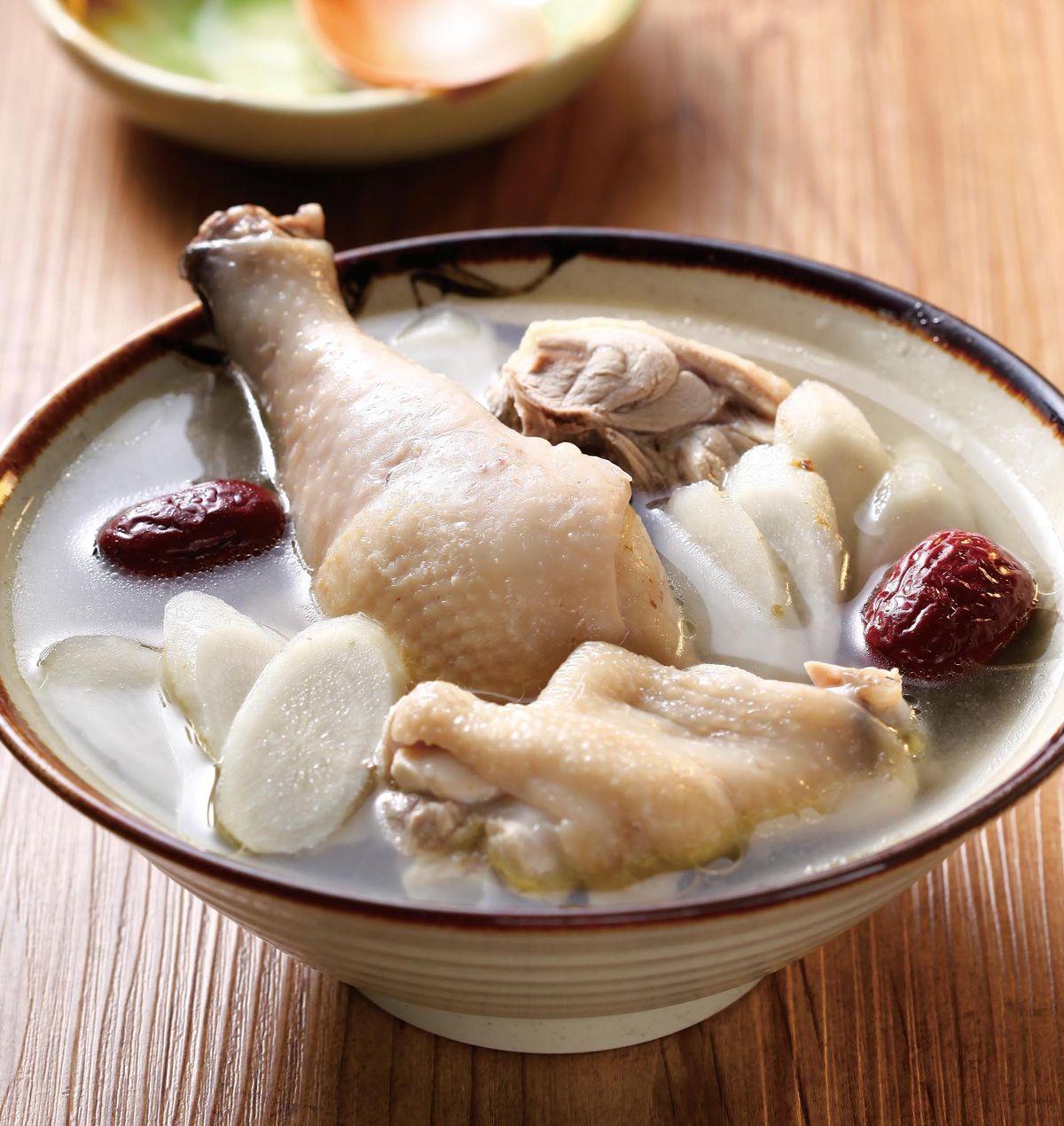 食譜:牛蒡雞湯(1)