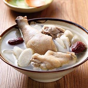 牛蒡雞湯(1)