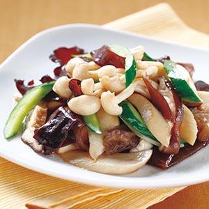 木耳黃瓜炒鮮菇
