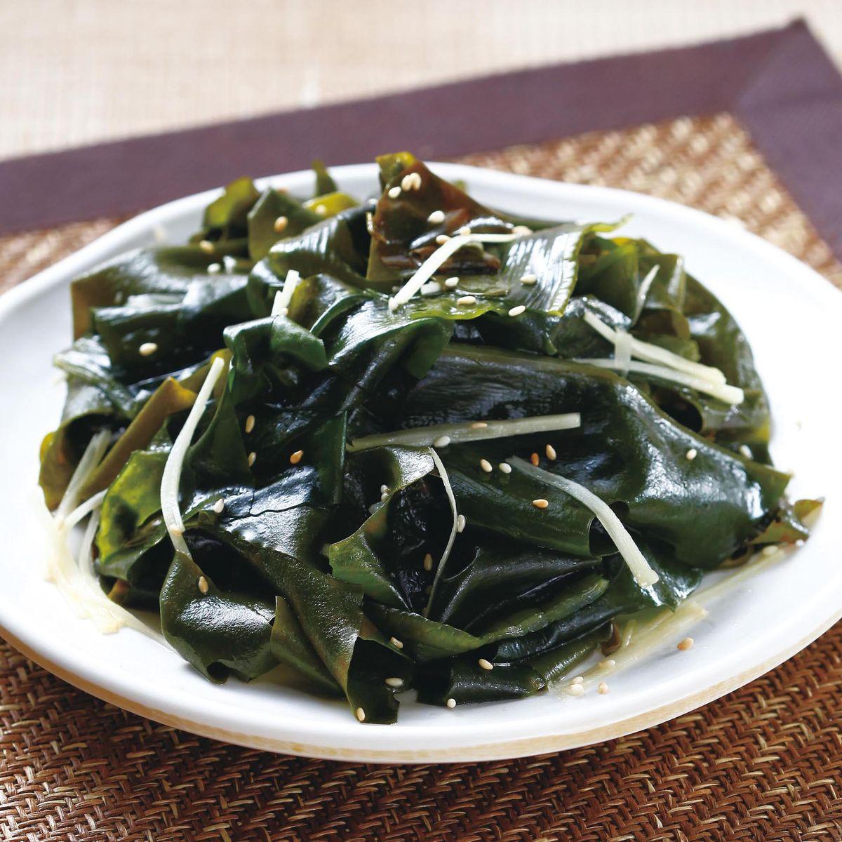 食譜:芝麻拌海帶芽(1)