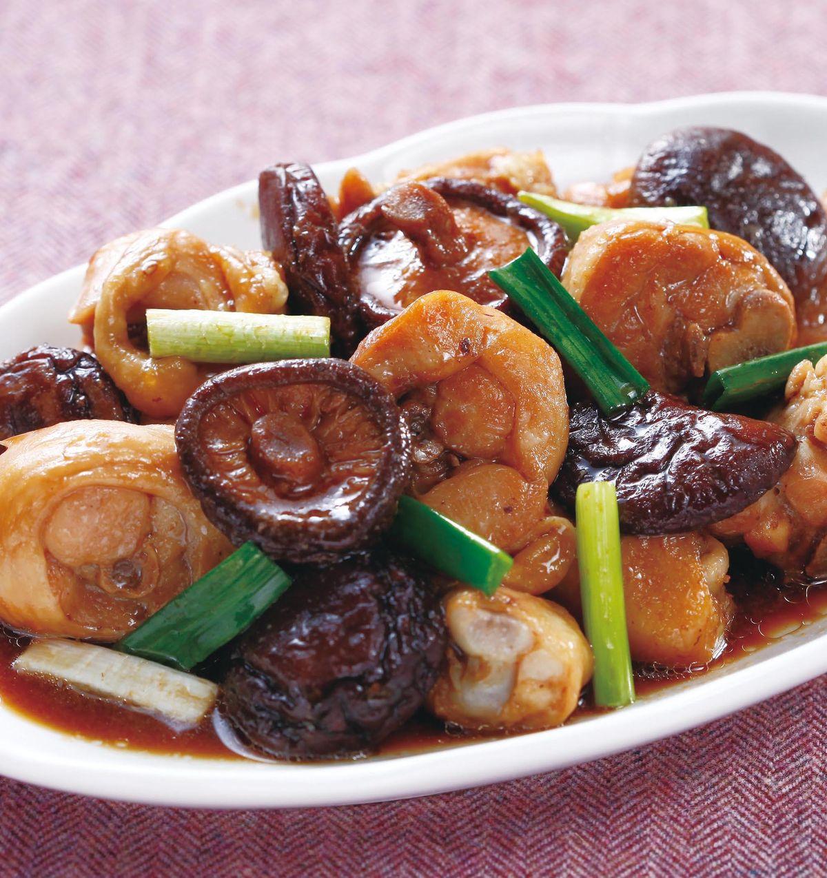 食譜:香菇蒸雞肉