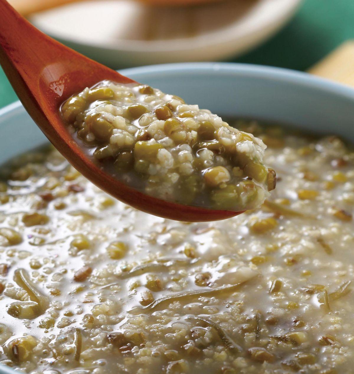 食譜:綠豆小米昆布粥