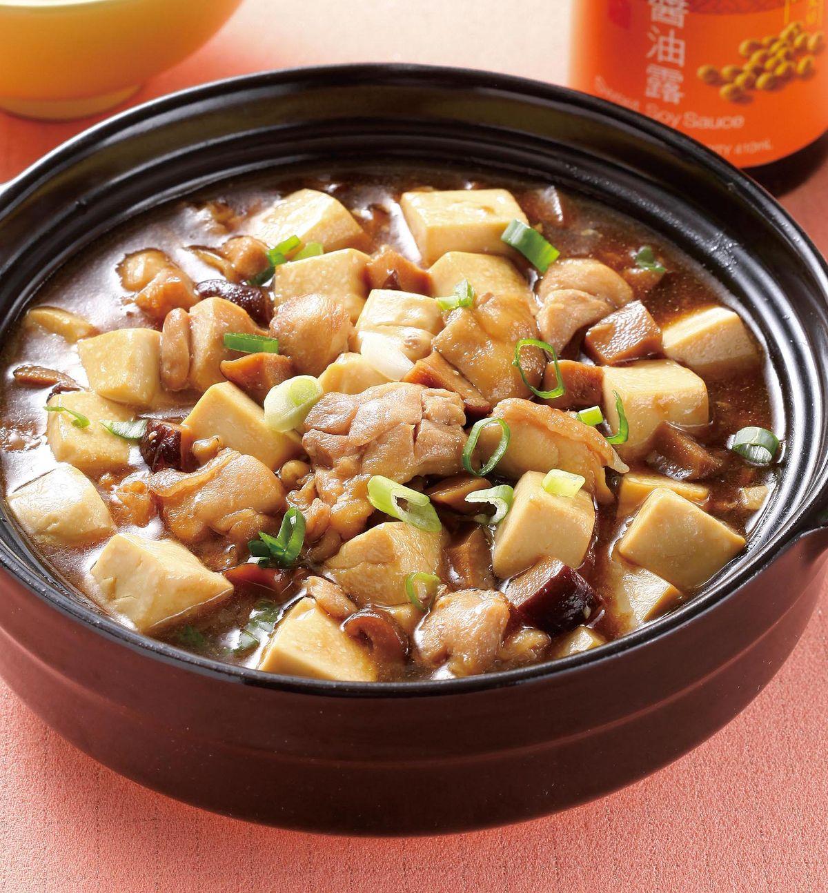 食譜:雞粒豆腐