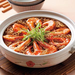 鮮蝦粉絲煲(3)