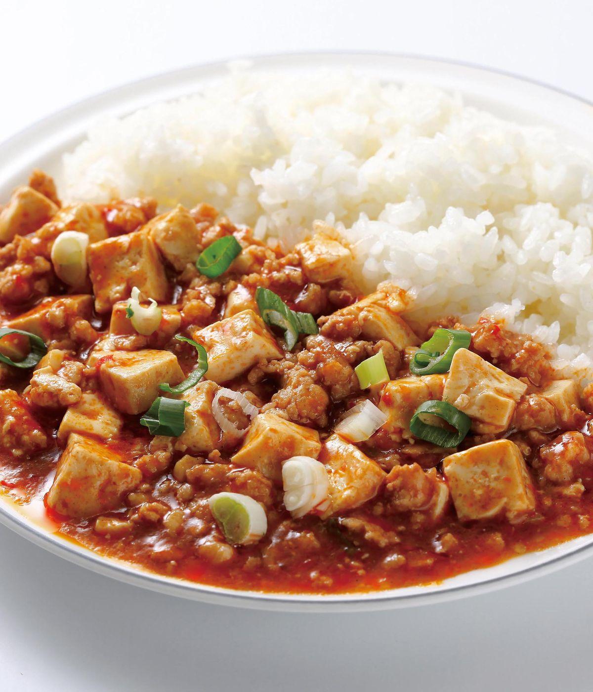 食譜:麻婆豆腐燴飯(3)