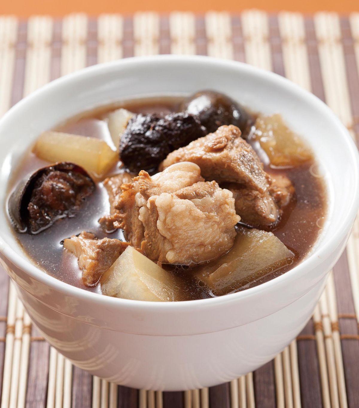 食譜:羅漢果冬瓜排骨湯