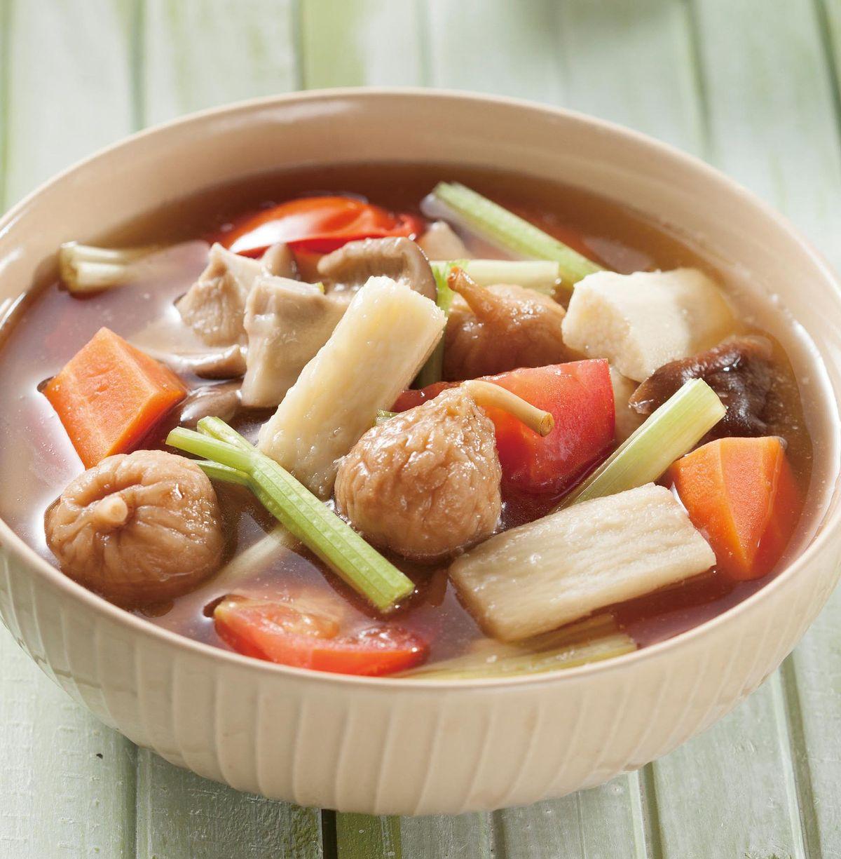 食譜:無花果蔬果湯