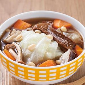 鮮蔬蕈菇湯