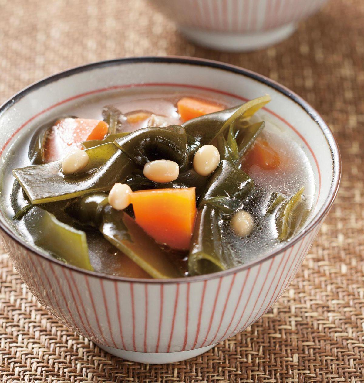 食譜:黃豆海帶湯