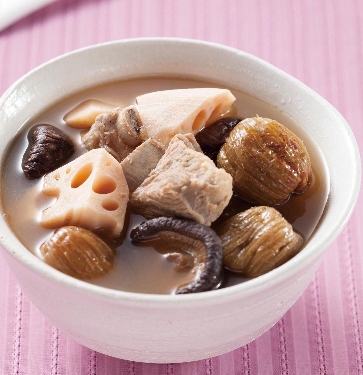 食譜:蜜棗蓮藕湯